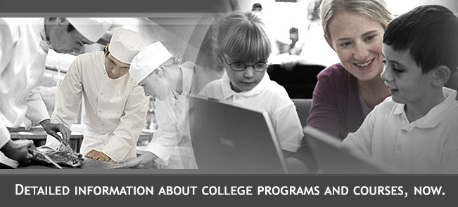 Detailed Information About College Programs and Courses, Now.